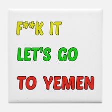 Let's go to Yemen Tile Coaster