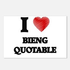 bieng quotable Postcards (Package of 8)