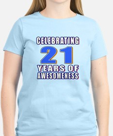 21 Years Of Awesomeness T-Shirt