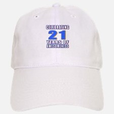 21 Years Of Awesomeness Baseball Baseball Cap