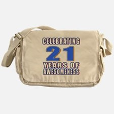 21 Years Of Awesomeness Messenger Bag