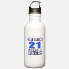 21 Years Of Awesomenes Water Bottle
