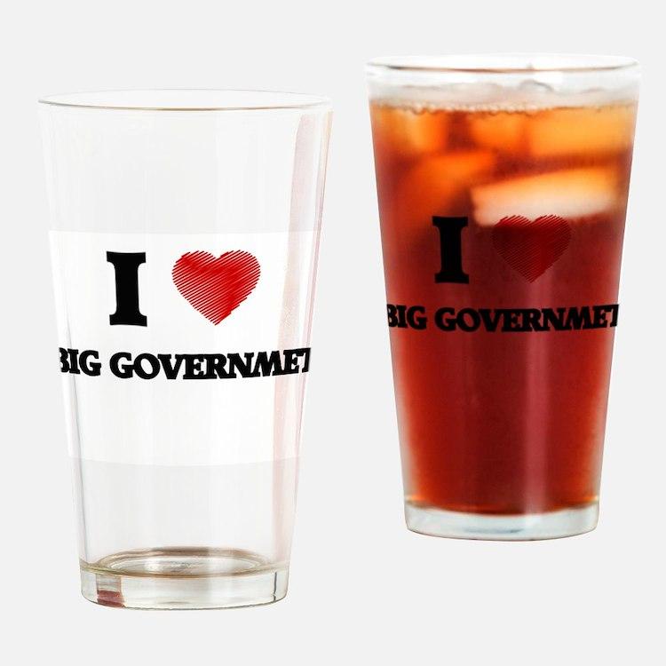Big Governmet Drinking Glass
