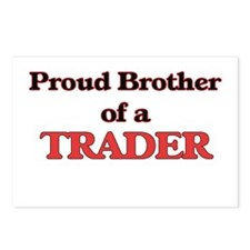 Proud Brother of a Trader Postcards (Package of 8)