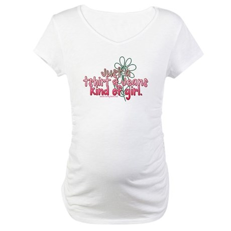 T-shirt & Jeans Kinda Girl Maternity T-Shirt