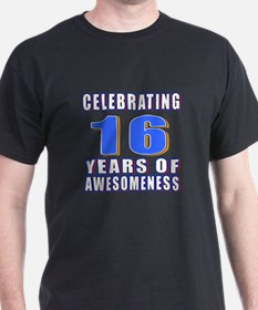 16 Years Of Awesomeness T-Shirt