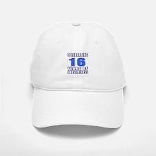 16 Years Of Awesomeness Baseball Baseball Cap