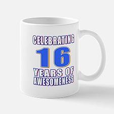 16 Years Of Awesomeness Small Small Mug