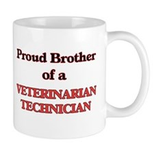Proud Brother of a Veterinarian Technician Mugs
