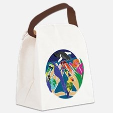 Tropical Creation Canvas Lunch Bag