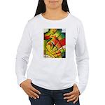 Gold Kandy Women's Long Sleeve T-Shirt