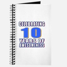10 Years Of Awesomeness Journal