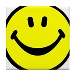 Happy Face Tile Coaster