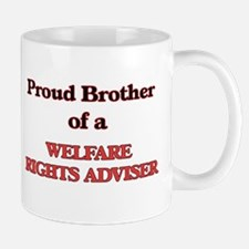 Proud Brother of a Welfare Rights Adviser Mugs