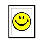 Happy Face Framed Panel Print