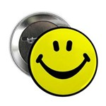 "Happy Face 2.25"" Button (100 pack)"