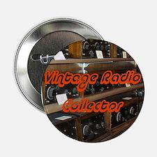 Vintage Radio Collector Button