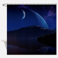 The New Earth Shower Curtain