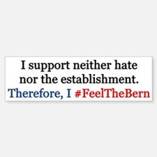 Feel The Bern Bumper Bumper Bumper Sticker