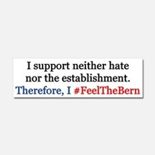 Feel The Bern Car Magnet 10 X 3
