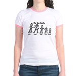Ass Family Jr. Ringer T-Shirt