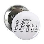 """Ass Family 2.25"""" Button (10 pack)"""