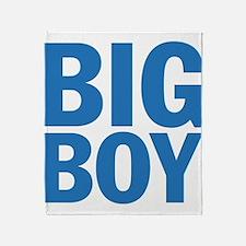 Big Boy Throw Blanket