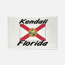Kendall Florida Rectangle Magnet