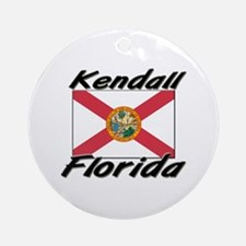 Kendall Florida Ornament (Round)