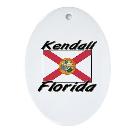 Kendall Florida Oval Ornament