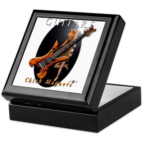 ceramic tile guitar pick box by michaelpeace. Black Bedroom Furniture Sets. Home Design Ideas