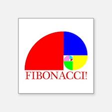 Fibonacci! Golden Ratio Sticker