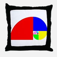 Fibonacci! Golden Ratio Throw Pillow