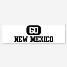 GO NEW MEXICO Bumper Bumper Bumper Sticker