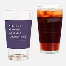 Unique Suffragette Drinking Glass