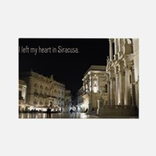 I Left my heart in Siracusa Magnets