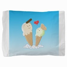 Ice Creams In Love Pillow Sham