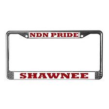 Shawnee NDN Pride License Plate Frame
