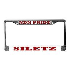 Siletz NDN Pride License Plate Frame