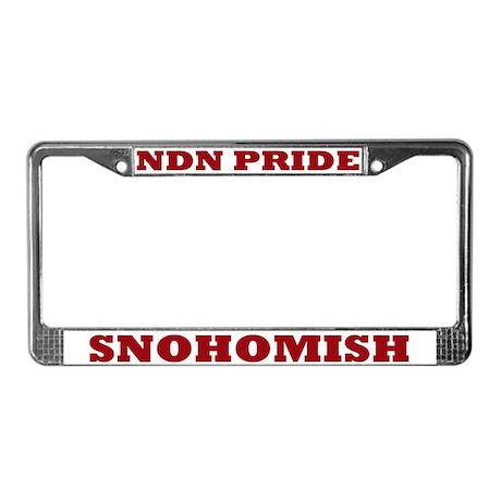 Snohomish NDN Pride License Plate Frame