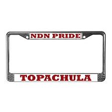 Topachula NDN Pride License Plate Frame