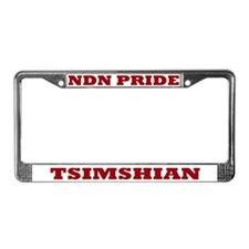 Tsimshian NDN Pride License Plate Frame
