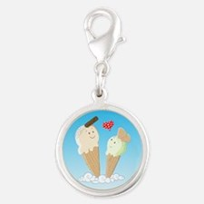 Ice Creams In Love Charms