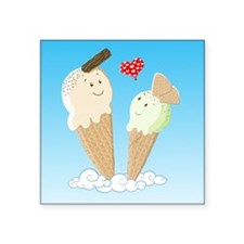 Ice Creams In Love Sticker