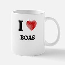 I Love BOAS Mugs