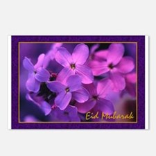 Violets - Eid Mubarak Postcards (Package of 8)