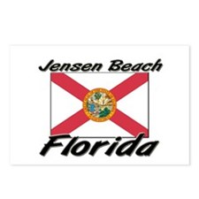 Jensen Beach Florida Postcards (Package of 8)