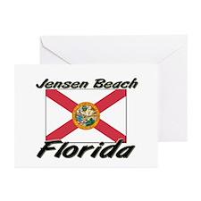 Jensen Beach Florida Greeting Cards (Pk of 10)