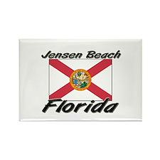 Jensen Beach Florida Rectangle Magnet