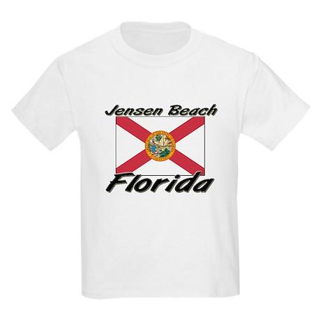 Jensen Beach Florida Kids Light T-Shirt